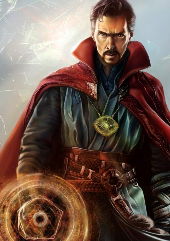 Dr Strange - Marvel fanart - Magdalena Wojarska