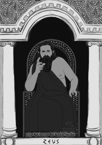 Bóg Zeus Magdalena Wojarska