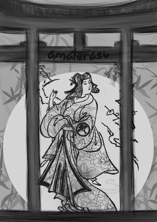 Bogini Amaterasu