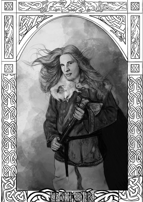 Bóg Thor Magdalena Wojarska