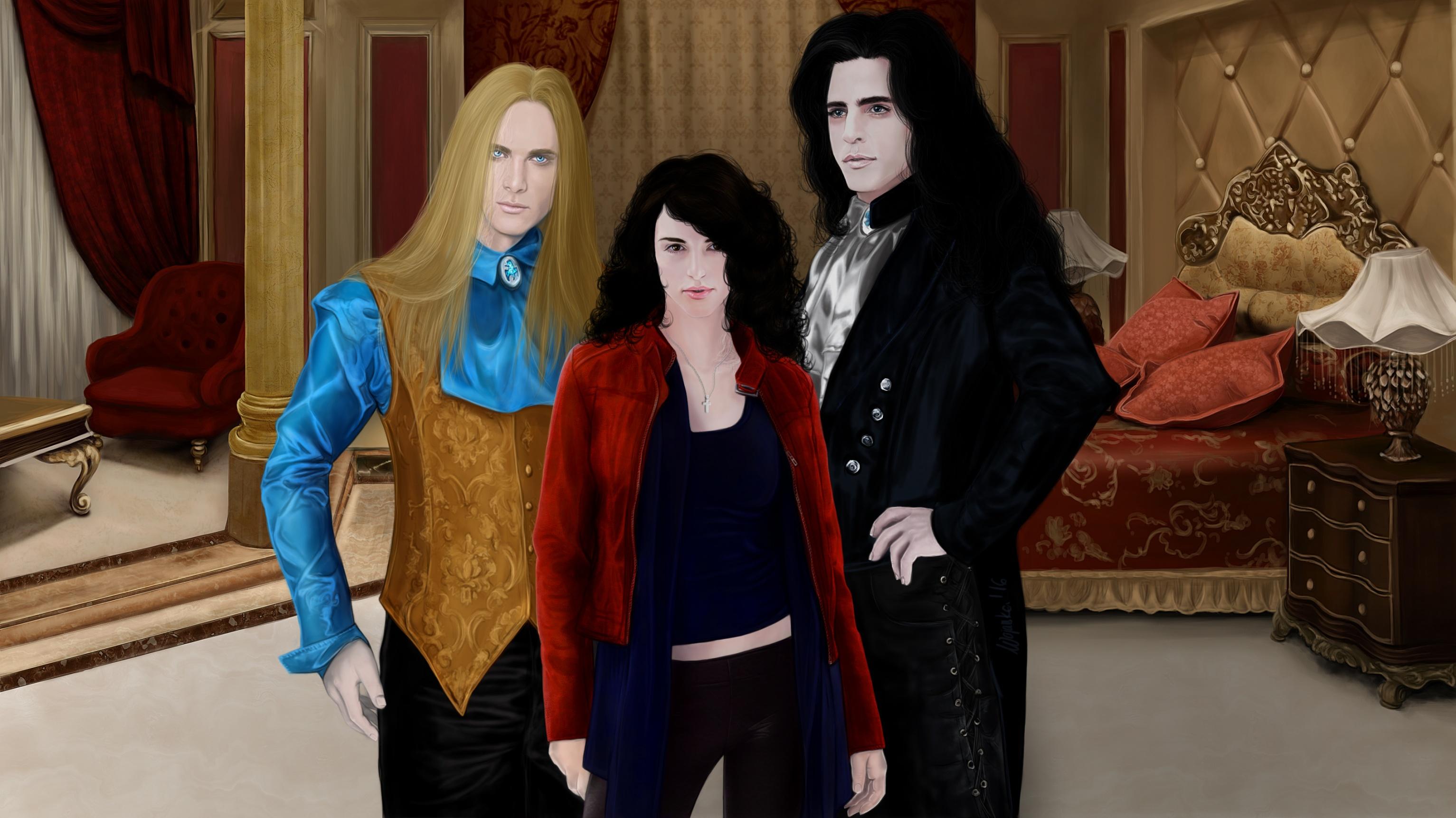 Anita Blake Vampire Hunter, Asher, Jean-Claude, L.K. Hamilton - Anita Blake series Magdalena Wojarska
