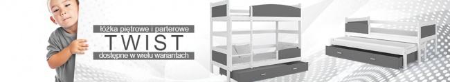 Baner łóżka Twist
